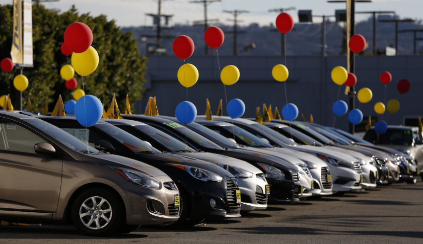 Auto Industry - New car sales for October down 4.4%