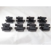 M206S Set of 8 Ignition Coils Square Melco Style