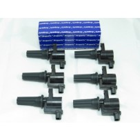 M106 Set of 6 Ignition Coils 2 Pin Connector