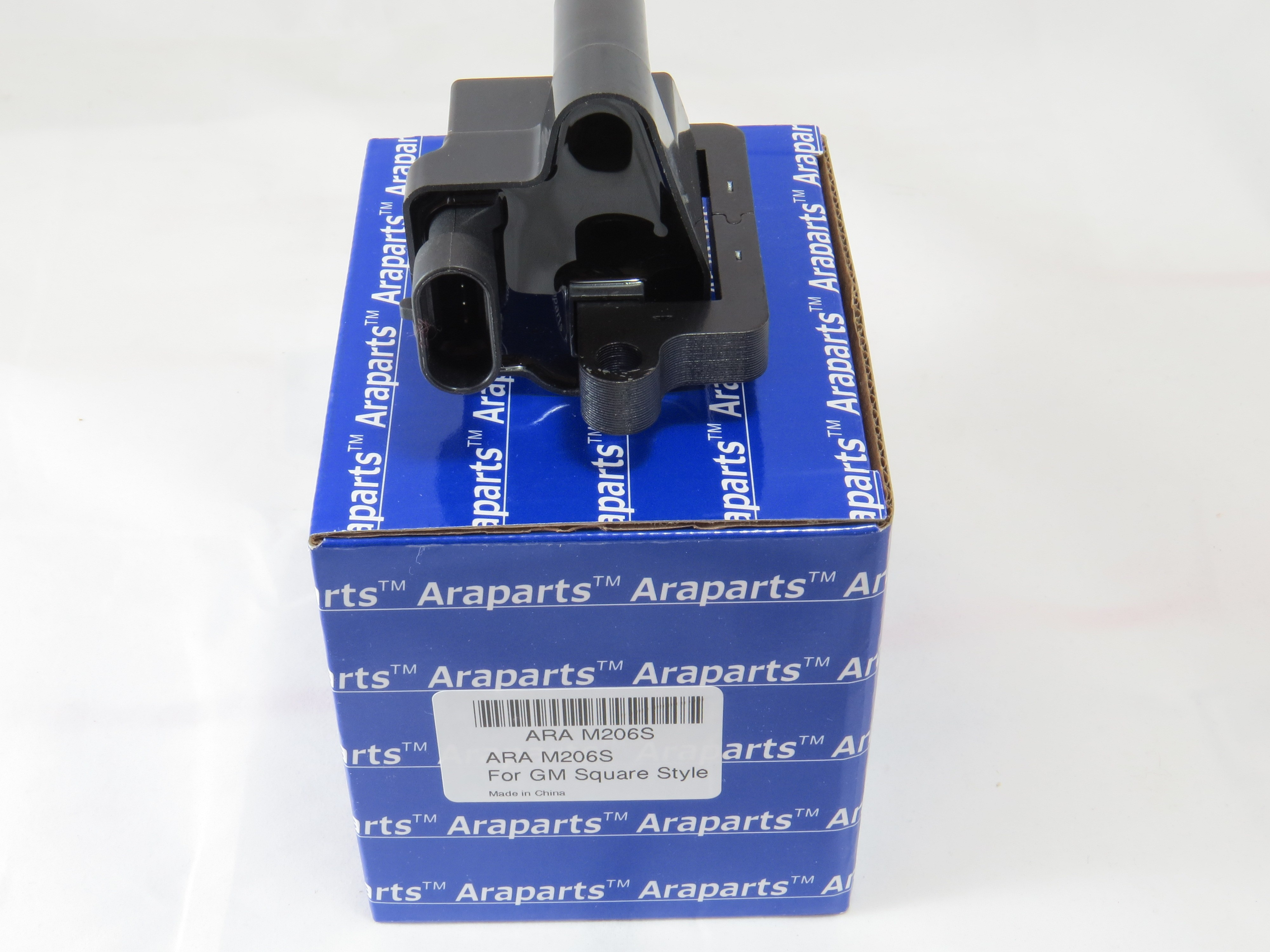 One Ignition Coil For GM 4.8L 5.3L 6.0L V8 SQUARE STYLE w//grease pack 12558693