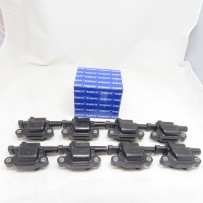 M208S Set of 8 Ignition Coils Square Style