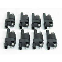 M208 Set of 8 Ignition Coils Round Style